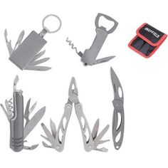 Sheffield 5-Piece Multi-Tool With Sheath Walmart $10.00 QTY: 2