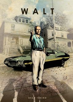 Walt ...Gran Torino movie, Clint Eastwood
