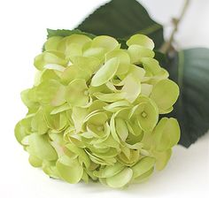 Hydrangea Single Stem Silk Flower Mermaid Wedding Decor (M)