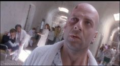 12 Monkeys - Directed by Terry Gilliam and staring Bruce Willis. Its dark twisted plot could easily be mistaken as a Philip K Dick story Dutch Angle, Sci Fi Movies, Movie Tv, Twelve Monkeys, K Dick, Eastern State Penitentiary, Terry Gilliam, Camera Angle, Camera Rig