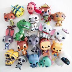Funko Pop Display, Funko Pop Dolls, Disney Pop, Disney Pixar, Pop Figurine, Funk Pop, Disneyland, Pop Toys, Pop Characters