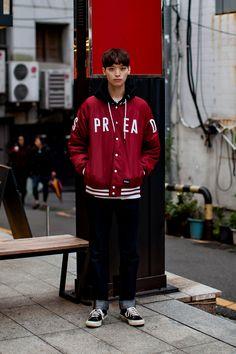 Jacket   Brown Breath Pants   Brown Breath Shoes   Converse On the street… Moon Darang Busan