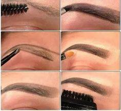 Maquillar las cejas paso a paso