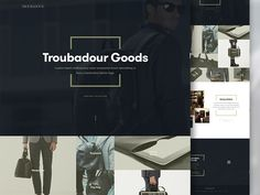 Since we've been working mostly on mobile app designs lately, we needed to take a step back to keep the creative juices flowing - redesigning Troubadour website felt like a perfect match to do just...