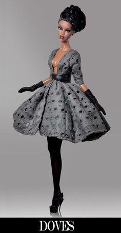 barbie -black