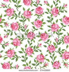 Find Seamless Floral Background Roses stock images in HD and millions of other royalty-free stock photos, illustrations and vectors in the Shutterstock collection. Thousands of new, high-quality pictures added every day. Russian Cross Stitch, Cross Stitch Rose, Cross Stitch Borders, Cross Stitch Flowers, Cross Stitch Charts, Cross Stitch Embroidery, Embroidery Patterns, Cross Stitch Patterns, Knitting Patterns