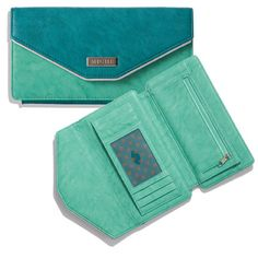 Wallet (Teal $29.95): This delectable wallet is so pretty it will make you smile every time you pull it out of your Miche Bag!
