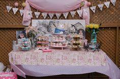 Alice wonderland tea party