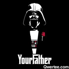 Geek Fiend Fashion: Your Father By BiggStankDogg @Qwertee