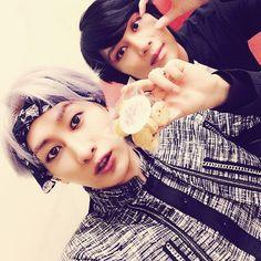 Eunhyuk and Heechul - Super Junior