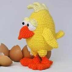 Chuck The Chick Amigurumi By IlDikko - Purchased Crochet Pattern - (amigurumipatterns)