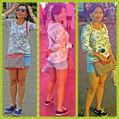 Top-h&m,short-forever 21,shoes-primark,bag-dkny,sunnies-dolce and gabbana