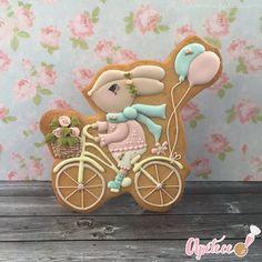 Galletas decoradas con glasa real www.apetece.com por Juana María Solano