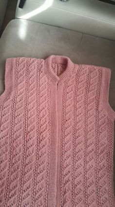 This post was discovered by saniye. Discover (and save!) your own Posts on Unirazi.Benzer Çalışmalar No related posts. Baby Knitting Patterns, Ladies Cardigan Knitting Patterns, Crochet Vest Pattern, Knitting Stiches, Knitting Videos, Knitting Designs, Knitting Daily, Easy Knitting, Bergamot