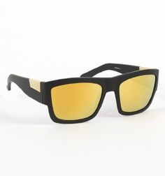 Fox Decorum Gold Sunglasses – Gold X Nosz Size  List Price: $150.00