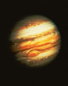 Jupiter wall mural. The largest planet in our solar system, fifth planet from the sun.