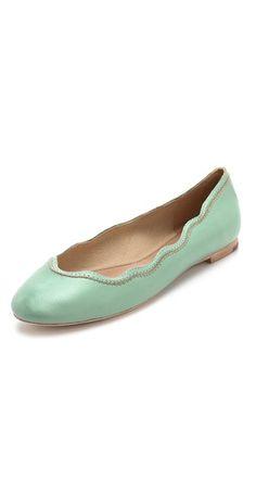Scalloped Ballet Flats