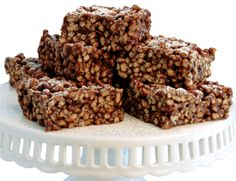Chocolate Crispies: Almond butter not only holds these Rice Krispie Treat–like squares together, it also gives them a decadently rich, nutty flavor. Natural peanut butter and cashew butter also work well. Chocolate Crispies, 4.0 out of 4 based on 4 ratings