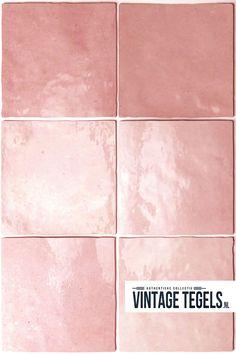 PINK - Super mooie tegel in een zachtroze tint! Op zoek naar een handvorm wandtegel? Kijk eens naar onze Artisan serie, ideaal voor op de keukenwand! #keuken #inspiratie #wandtegels #schattig #babyroze #pink #roze #vintagetegels