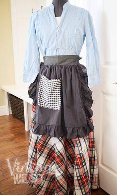 Pioneer Trek Outfit  041 by VintageWestNative on Etsy, $25.00