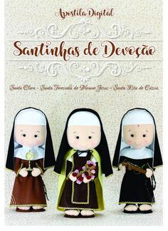Felt Crafts, Diy And Crafts, Felt Patterns, Catholic, Snoopy, Santa, Teddy Bear, Dolls, Christmas Ornaments