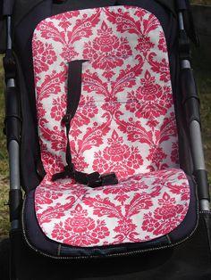Darla Picnic Damask Universal Pram/Car Seat by BitsandBobs4Bubs, $30.00