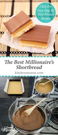 Millionaire's Shortbread ❤︎ Leave a like, save this pin and follow more content if you loved this