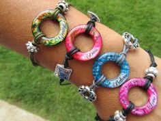 Beautiful Jewelry.  Could be a DIY project using washers.  Love them - Great gift idea