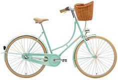 crème turquoise Holymoly bicycle