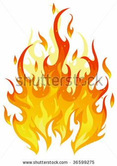 Isolated vector fire by deedl, via Shutterstock