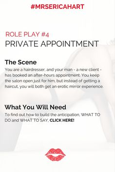 Sexy role play scripts