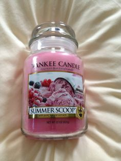 Perfect blend of vanilla with sweet berries
