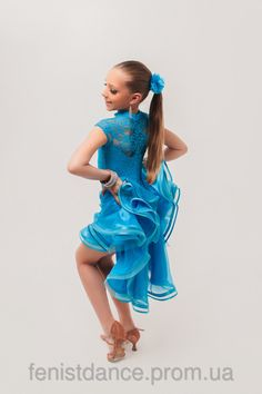 Бальное платье рейтинговое c регилином «Марсель» - Fenist Dance в Харькове