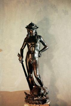 David de Donatello en el museo del Bargello de Firenze  -Italy-