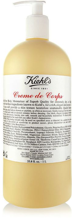 Kiehl's Since 1851 Creme de Corps and more iconic beauty products every woman should own.