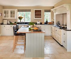A new open-plan kitchen with a traditional pantry larder has transformed Alison and James Dewhurst's home - Country Kitchen, New Kitchen, Kitchen Dining, Kitchen Decor, Kitchen Larder, Kitchen Utensils, Kitchen Cabinets, Cottage Kitchens, Home Kitchens
