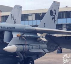 F-14 Tomcat with an old Sidewinder missile and Phoenix missile.  Just a photo to give it some context in size.