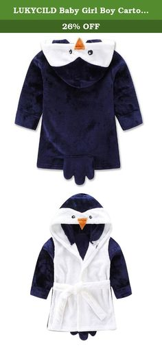 bda7dfe55a LUKYCILD Baby Girl Boy Cartoon Hooded Fleece Bathrobe Children Pajamas  Sleepwear. LUKYCILD Baby Girl Boy Cartoon Hooded Fleece Bathrobe Children s  Pajamas ...