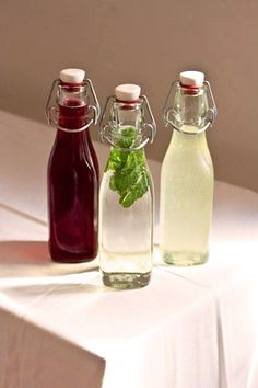 DIY these simple infused syrups for fancy-pants drinks. Photo by Chris Baker. Put a twist on your cocktails with this infused syrup DIY. shows you how to make 3 flavored simple syrups. Fancy Drinks, Cocktail Drinks, Yummy Drinks, Cocktail Recipes, Alcoholic Drinks, Beverages, Mix Drinks, Drinks Alcohol, Refreshing Drinks