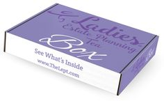 Ladies Estate Planning Tea - Books, The Box (favors, games, Trinkets) other items for your event. Tea And Books, Tea Box, Party Favors, Party Themes, November, Activities, Website, Check, Products