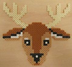 Reindeer hama perler beads