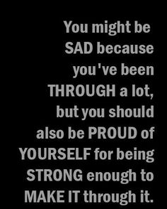 Positive Quotes : We are always stronger than we think ♥. - Hall Of Quotes Great Quotes, Quotes To Live By, Me Quotes, Motivational Quotes, Inspirational Quotes, Bad Words Quotes, Qoutes, The Words, Youre My Person