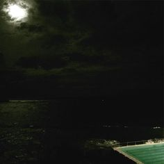 (Loc) Posted on May 24 2016 at 01:02AM: She held the moon the way she held her own heart. As if it was the only light that could guide her through the darkest nights . #staywildmoonchild #fullmoon #bondi #icebergs by lifeedit