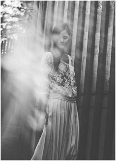 boho wedding dress, Laure de Sagazan #modest