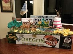 My son's Oregon state float project