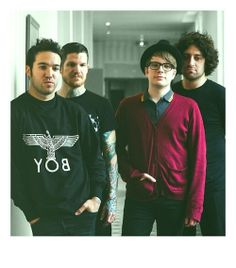 Fall Out Boy. I survived the hiatus. thank god they're back.