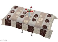 Table Cover Table Cover  *Material * Polyster  *Size ( L X W ) * 40 In X 60 In  *Thickness * 15 mm  *Description * It Has 1 Piece Of 4 Seater Table Cover  *Sizes Available* Free Size *   Catalog Rating: ★4.2 (1097)  Catalog Name: Elegant Table Covers Home & Kitchen Utilities Vol 4 CatalogID_166872 C129-SC1637 Code: 491-1306555-