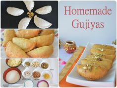 Gujiya's are sweet dumplings prepared with mawa- coconut mixture and glazed with sugar syrup. #holi #holirecipe #gujiyas #indiansweets #sweets #yummy  #festivesweets  #recipebox