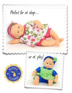Pixie Faire MI Gurlz Clothing Bitty Baby Ann by PixieFairePatterns