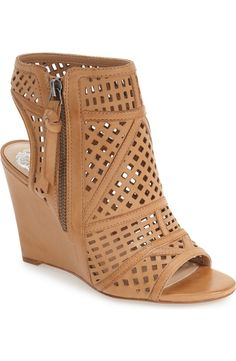 Dressed up or dressed down, this playful wedge sandal from Vince Camuto will pair perfectly with warm-weather outfits.